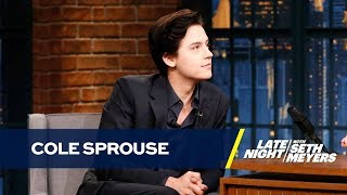 Video Cole Sprouse Recites Creepy Poetry He Wrote As a Child MP3, 3GP, MP4, WEBM, AVI, FLV September 2018