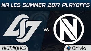 CLG vs NV Highlights Game 3 NA LCS SUMMER 2017 PLAYOFFS Counter Logic Gaming vs EnvyUs by Onivia Make money with...