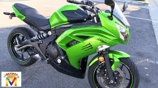 10. Kawasaki Ninja 650R Drive by & Revving - Two Brothers Full Exhaust