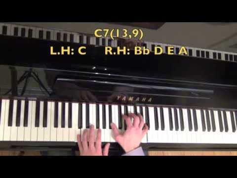 4 Totally Awesome Dominant Jazz Piano Chords