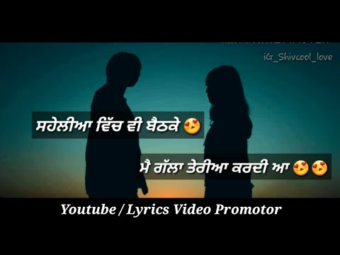 Romantic quotes - Romantic Poem for Girls  Lyrics video promoter  Shivcool  Satbir Aujla  Sanm Quotes  PREET