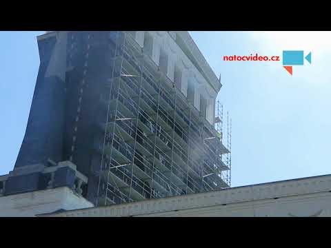 Oprava kostela Nejsvětějšího Srdce Páně