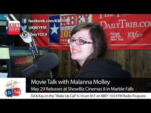 ShowBiz Cinemas 8 Movie Talk on KBEY 103.9 FM