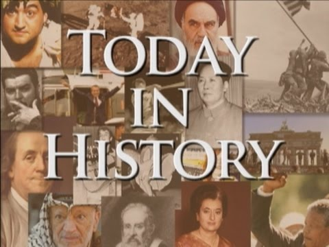 Today in History for April 25