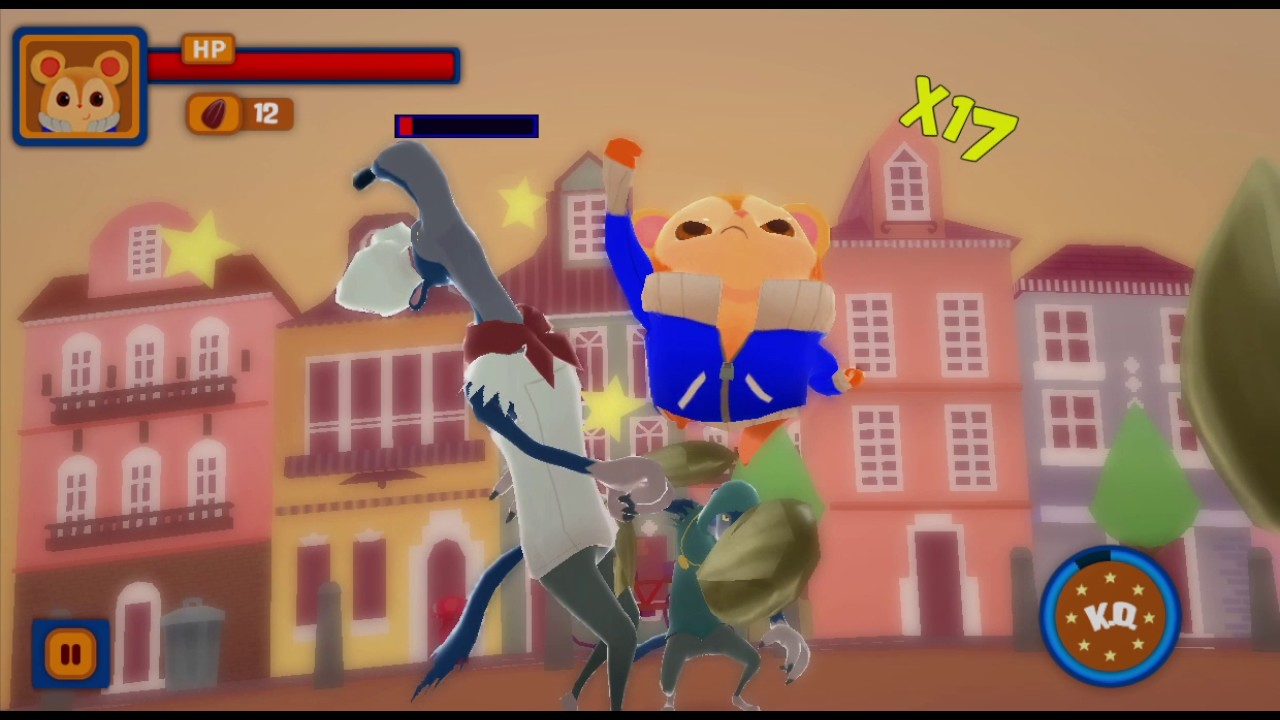 photo image 'Hamsterdam' is an Upcoming Mobile Beat 'Em Up with a Really Clever Control Scheme