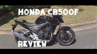 3. 2013 Honda CB500f Review