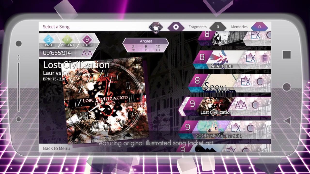 Futuristic Rhythm Game 'Arcaea' Looks Not For the Faint of Heart
