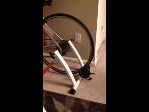 Friends conquer indoor bike trainer magnetic stand (normal) video 2