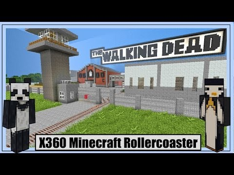 xbox360 - Hey guys read me! :) Welcome to our Walking Dead xbox 360 Minecraft rollercoaster! This rollercoaster has taken months to build, and we really hope you enjoy...
