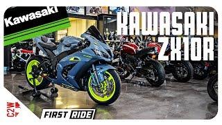 6. 2017 Kawasaki ZX10r | First Ride | Wrecked Bike Rebuild Season 2
