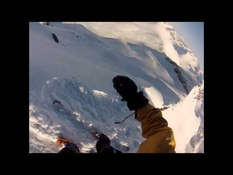 GoPro HD Skiing Trollkyrkja Norway