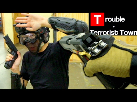 AIRSOFT Double 1911 Killer - Trouble In Terrorist Town (видео)