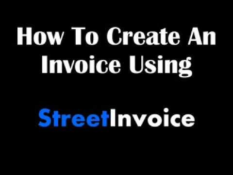 Video of Street Invoice