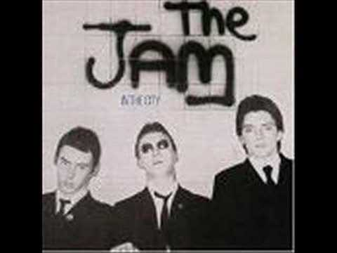 The Jam - In The City lyrics