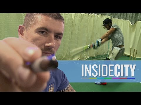 Video: INSIDE CITY 128 | Joe Hart cricket masterclass
