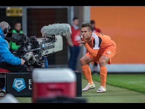Wideo: Zag��bie Lubin - Cracovia Krak�w 1:1, Sezon 16/17