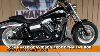 10. BAD ASS!!! 2009 Harley-Davidson Dyna Fat Bob for sale
