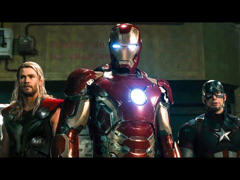 Avengers vs Ultron Fight Scene - AVENGERS 2: AGE OF ULTRON (2015) Movie Clip