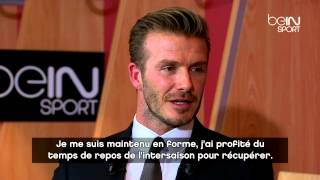 David Beckham : Les Meilleurs Moments De L'interview Exclusive