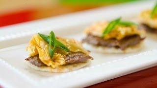 Korean Beef Bites: Party Appetizers From Jaden Of Steamy Kitchen's Cookbook