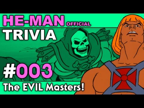 He Man - Trivia - The EVIL Masters!