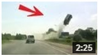 CRASH ! Horrible Accident, Voiture Volante !! INCROYABLE
