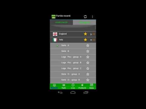 Calcio Live , Football Results In Real Time