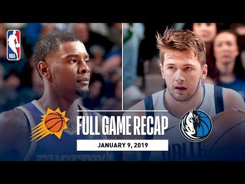 Video: Full Game Recap: Suns vs Mavericks | Luka Doncic Drops 30 Against PHX