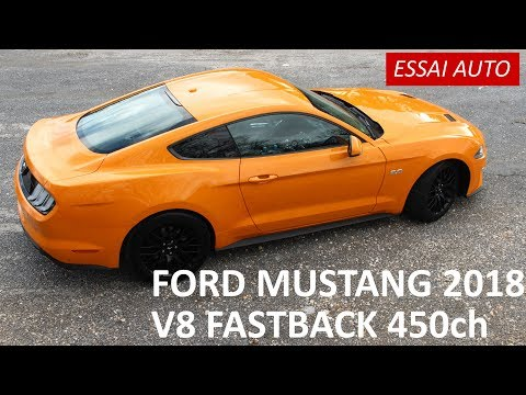 [ESSAI AUTO #16] Ford Mustang 2018 : V8 Fastback Ou 2,3l EcoBoost ?
