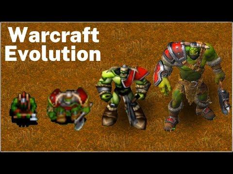 Evolution of Warcraft Units | (1994 - 2020)