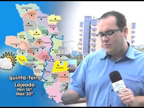 Previsão do Tempo 29 07 2015
