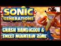 Sonic Generations PC - (1440p) Crash Bandicoot & Sweet Mountain Zone