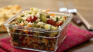 Cómo hacer ensalada de quinoa árabe