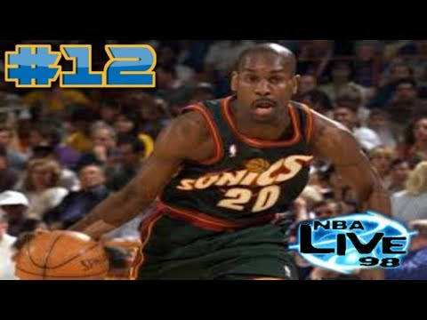 NBA Live 98 PS1 Gameplay 2018 Golden State Warriors Season Mode Ep.12 (The Glove vs The Chef)