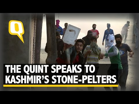 The Quint Exclusive: Into the Minds of Kashmir's Stone-Pelters