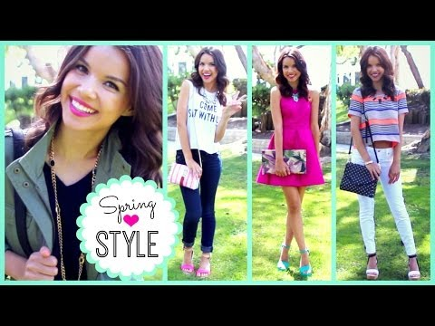 Spring - Raise your hand if you're excited for spring fashion! *raises BOTH like a weirdo* Follow me on Twitter: http://twitter.com/missglamorazzi Check out ALL the o...