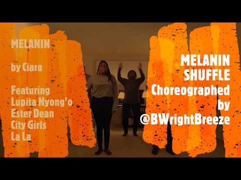 Melanin Shuffle Challenge (A Dance Inspired By Ciara's