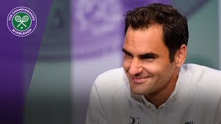 Roger Federer looks forward to starting his bid for an eighth Wimbledon title. SUBSCRIBE to The Wimbledon YouTube Channel: http://www.youtube.com/wimbledon...