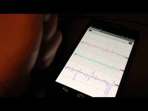 Video of iSeismometer