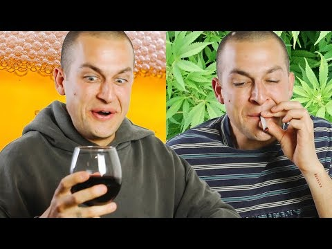 Me Drunk Vs. Me High | Chris Klemens