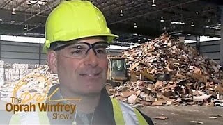 A Waste Management COO Goes Undercover On The Factory Floor | The Oprah Winfrey Show | OWN