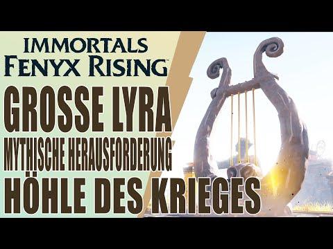 Immortals Fenyx Rising - Guide - Höhle des Krieges - Mythische Herausforderung - Große Lyra