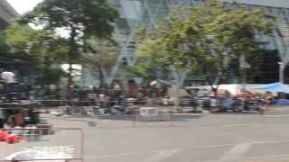Bangkok Shutdown Protests Video 2