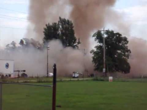 Extreme Makeover Home Gets Blown Up