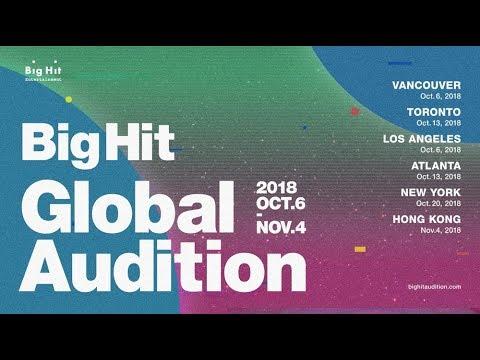 2018 BigHit Global Audition #1 - Thời lượng: 31 giây.