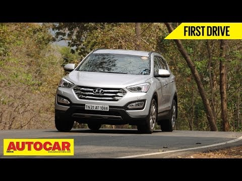 Hyundai Santa Fe | Comprehensive First Drive Review | Autocar India