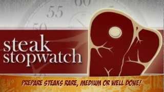 Steak Stopwatch | Steak Timer YouTube video