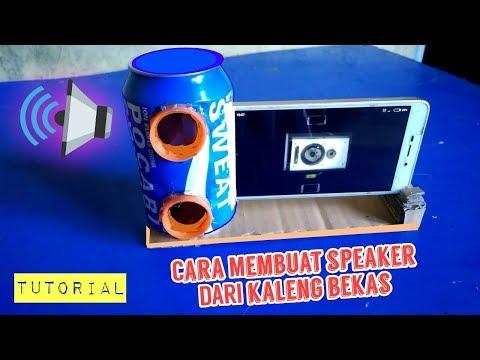 Download Speaker sederhana kaleng bekas minuman