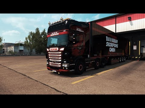 Real Scania V8 Sound