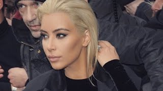 ABC NEWS: Kim Kardashian Dyes Hair BLONDE!  --BREAKING NEWS-- Idiocracy In America